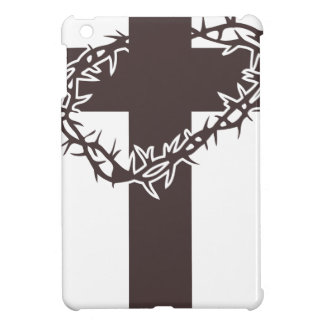 Cross And Thorns Cover For The iPad Mini