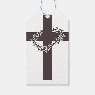 Cross And Thorns Gift Tags