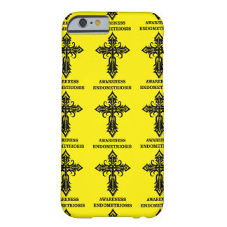 Cross/Awareness...Endometriosis Barely There iPhone 6 Case
