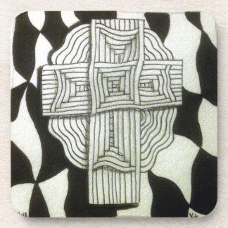 Cross Beverage Coaster