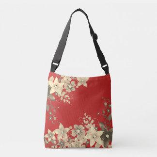 Cross Body Bag,classic flowered design ,modern Crossbody Bag