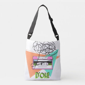 Cross Body Bag in Colorful Doh Tape All-Over-Print