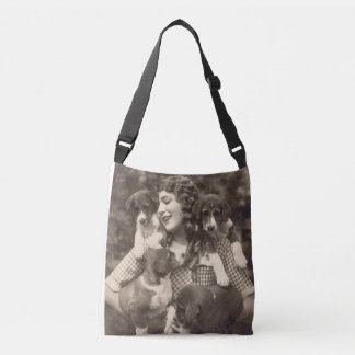 Cross body bag, Mary Pickford & Beagles Crossbody Bag