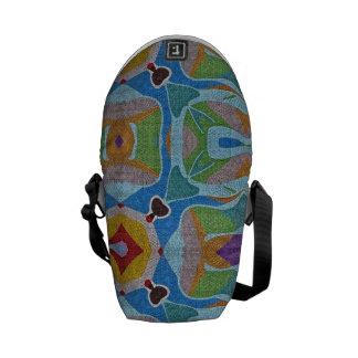 Cross-Body Messenger Bag - Risen (Art Design)