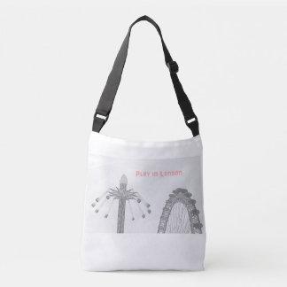 Cross Body Tote Bag - Iconic London