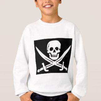 Cross Bones Flag Pirate Skull Sweatshirt