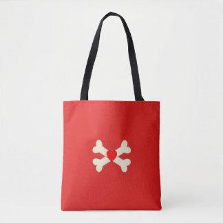 Cross Bones Tote Bag