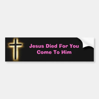 cross, bumper sticker, jesus, christianshop, bumper sticker