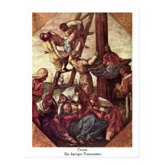Cross By Jacopo Tintoretto Postcard