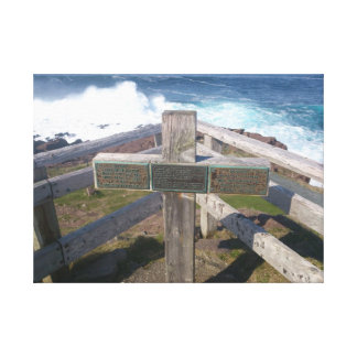 Cross Stretched Canvas Print