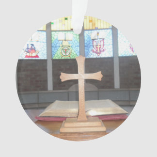 Cross Christmas Decoration