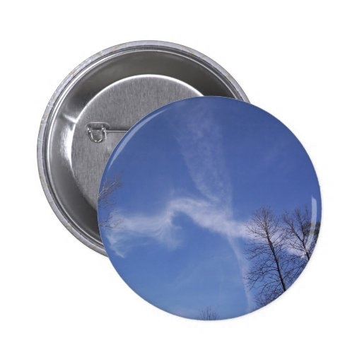 Cross Clouds Button