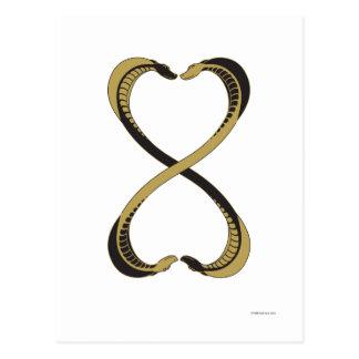 Cross Cobras Postcard
