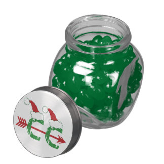 Cross Country Christmas © Jelly Belly Candy Jars