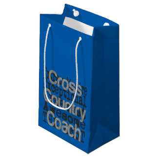 Cross Country Coach Extraordinaire Small Gift Bag