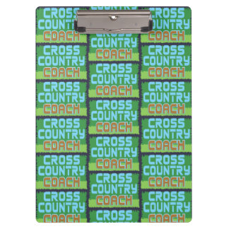 Cross Country Coach Pattern Clipboard