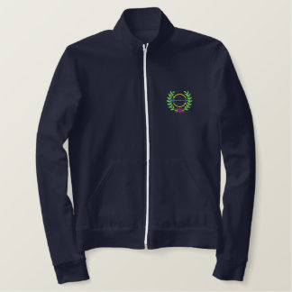 Cross Country Crest Embroidered Jacket