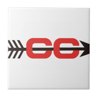 Cross Country Logo Small Square Tile