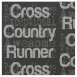 Cross Country Runner Extraordinaire Fabric
