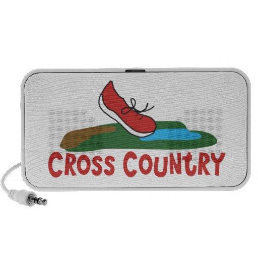 Cross Country Running Mp3 Speaker