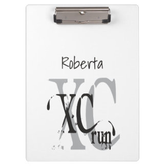 Cross Country Running XC Clipboard