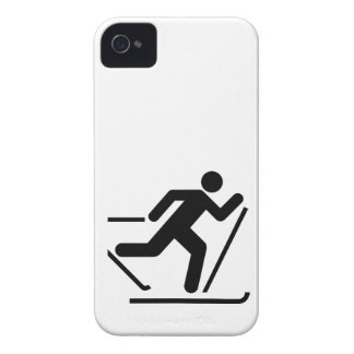 Cross Country Ski Symbol iPhone 4 Case