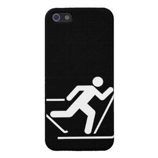 Cross Country Ski Symbol iPhone 5 Cases