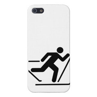 Cross Country Ski Symbol iPhone 5 Covers