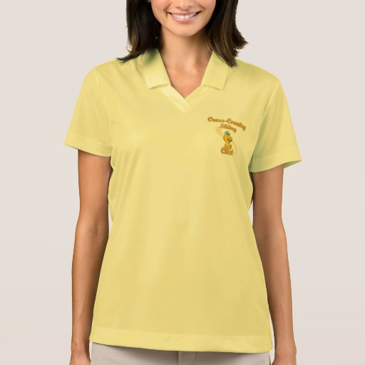 Cross-Country Skiing Chick T-shirt