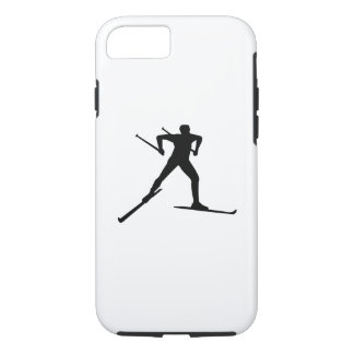 Cross country skiing iPhone 8/7 case