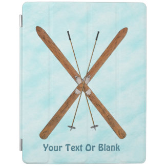 Cross-Country Skis On Snow iPad Cover