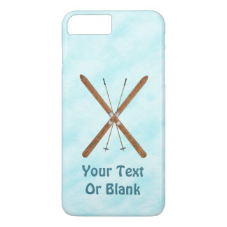 Cross-Country Skis On Snow iPhone 8 Plus/7 Plus Case