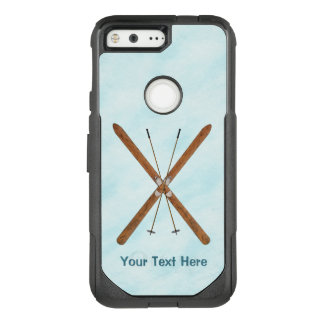 Cross-Country Skis On Snow OtterBox Commuter Google Pixel Case