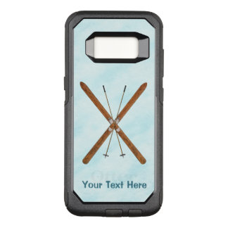 Cross-Country Skis On Snow OtterBox Commuter Samsung Galaxy S8 Case