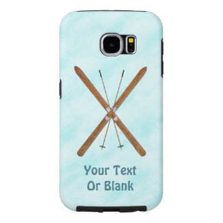 Cross-Country Skis On Snow Samsung Galaxy S6 Cases