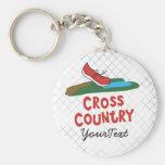 Cross Country - XC Running Shoe Key Chain