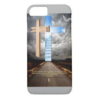 Cross door to heaven iPhone 7 case
