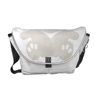 Cross Eyed BEAR Messenger Bags
