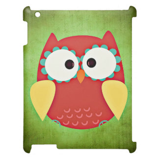 Cross Eyed Owl iPad Case
