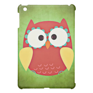 Cross Eyed Owl iPad Mini Cover