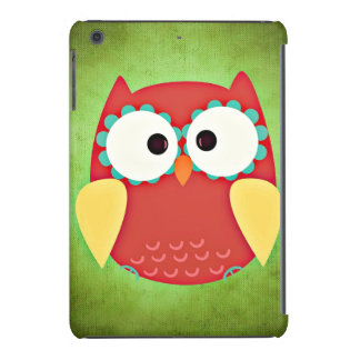 Cross Eyed Owl iPad Mini Retina Case