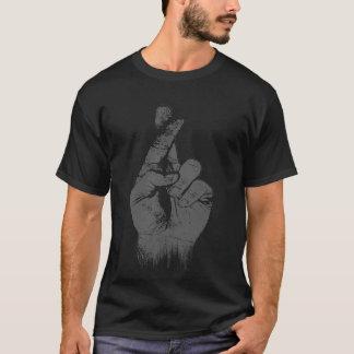 cross finger T-Shirt