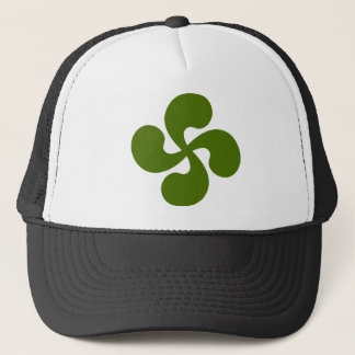 Cross Green Basque Trucker Hat