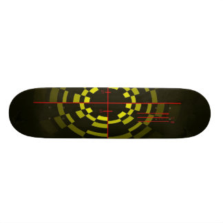 Cross hair deck skate decks