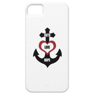 Cross Heart Anchor iPhone5 Barely There iPhone 5 Case