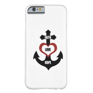 Cross Heart Anchor iPhone 6 case
