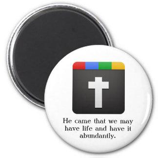 cross icon magnet