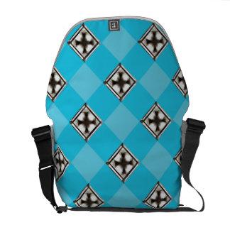 Cross in Diamond ™ Elegant Rickshaw Messenger Bag