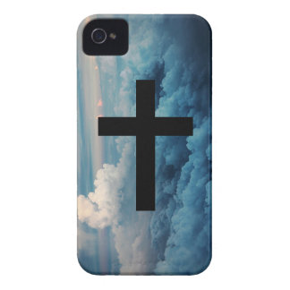 Cross in the Sky iPhone 4 Cover