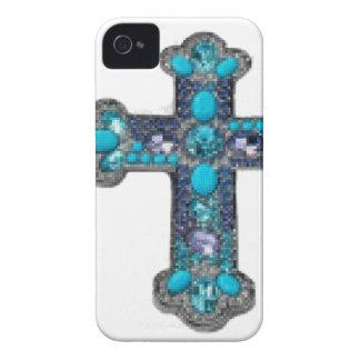 Cross jeweled iPhone 4 Case-Mate case